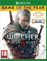 The Witcher 3 - Game Of The Year Edition (XBox One, Blu-ray disc):