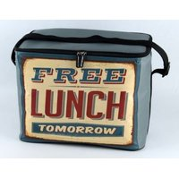 Leisure Quip Retro Soft Coolerbag (Free Lunch Tomorrow) (30 Can):