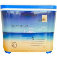 Leisure Quip Hardbody Cooler (16 Can) (10L) (Beach Postcard):