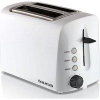 Taurus Esencia Toastadora Toaster (White) (2 Slice):