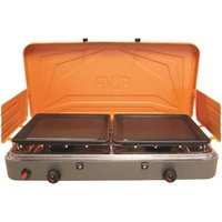 Alva 2Burner Gas stove with Solid plates: