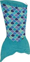 Meerkat Kiddies Mermaid Sleeping Bag (Blue):