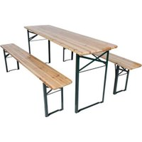 Fine Living Beer Garden Bench Set: