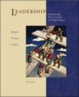 Leadership: With Skillbooster Card (Paperback, 4Rev ed): Richard L. Hughes, Robert C. Ginnett, Gordon J Curphy