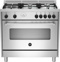 La Germania Americana Gas Hob & Electric Oven (Stainless Steel | 900mm):