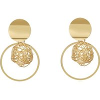 ZA Elegant Dangle Drop Earrings: