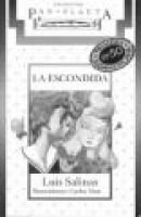 La Escondida (Spanish, Paperback): Salinas, Luis Salinas