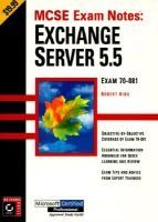 MCSE Exam Notes: Exchange 5.5 (Paperback):
