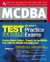 MCDBA SQL Server 7 Certification Boxed Set: Syngress Media Inc