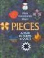 Pieces - A Year in Poems & Quilts (Hardcover, Library binding): Anna Grossnickle Hines