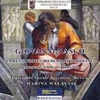 Nasco - Lamentations of Jeremia (CD): Nasco