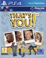 That's You (PlayStation 4, Blu-ray disc):