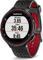Garmin Forerunner 235 GPS Running Watch with Wrist Heart Rate Monitor (Black & Red):