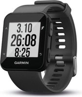Garmin Forerunner 30 GPS Running Watch with Wrist-based Heart Rate (Slate Grey):