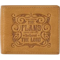 I Know The Plans Jeremiah 29:11 (Wallet) (Leather / fine binding):