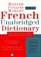 French Unabridged Dictionary (Paperback, 5th): Beryl T. Atkins, Harpercollins Publishers