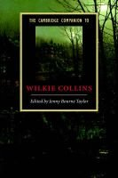 The Cambridge Companion to Wilkie Collins (Paperback): Jenny Bourne Taylor