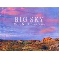 Big Sky - Wild West Panorama (Hardcover): Tim Fitzharris