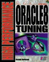 High Performance Oracle 8 Tuning (Paperback, illustrated edition): Donald Keith Burleson
