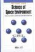 Science of Space Environment (Hardcover): T. Ondoh, K. Marubashi