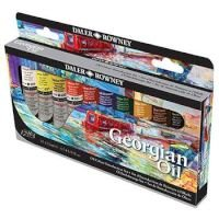 Daler Rowney Georgian Oil Paint - Introductory Set - 22ml - Set Of 10: