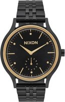 Nixon Ladies Sala Analog Watch (Black & Gold):