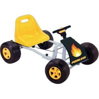 Peerless Kids Lion Adventures Go Kart - Yellow and Black:
