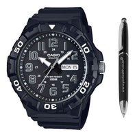 Casio Men's Standard Analogue Wrist Watch (Black):
