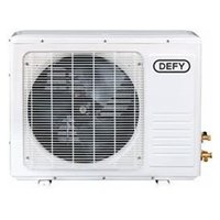 Defy Mid-Wall Split Air Conditioner Outdoor Unit (12000BTU | White) - Outdoor Unit Only, Requires Indoor Unit to Operate: