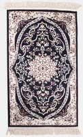 Lush Living Décor Rugs Darius (650 x 1100 | Navy):