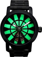 Matt Arend Lume One Satin Watch (Black and Green):