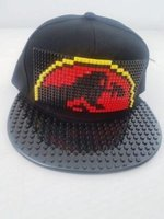 Building Blocks Cap (Jurassic Park | Black Peak):