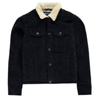 Jack & Jones Mens Alvin Sherpa Jacket (Navy) [Parallel Import]: