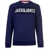 Jack & Jones Mens Core Dean Sweatshirt (Maritime Blue) [Parallel Import]: