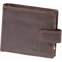 Paolo Rossi Genuine Leather Country Range Wallet (Brown):