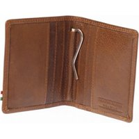 Paolo Rossi Genuine Leather Author Range Wallet (Brown):