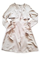 Stradivarius Belted Trench Coat (Stone) - Parallel Import:
