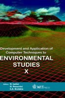 Development and Application of Computer Techniques to Environmental Studies, v. 10 (Hardcover, illustrated edition): G. Latini,...