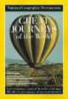 "Great Journeys of the World (Paperback): ""National Geographic"" Magazine"