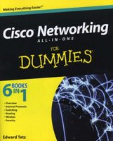 Cisco Networking All-in-One For Dummies (Paperback, New): Edward Tetz