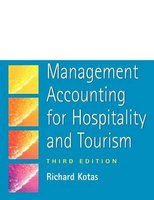 Management Accounting for Hospitality and Tourism (Paperback, New edition): Richard Kotas
