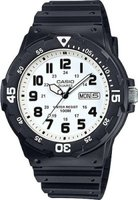Casio Analog Wrist Watch (Black & White):