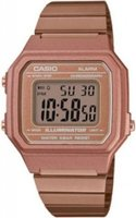Casio Retro Digital Wrist Watch (Rose Gold):