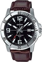 Casio Men's Analogue Wrist Watch (Brown and Silver):