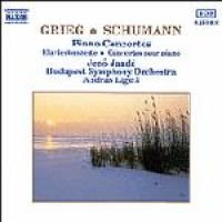 Edvard Grieg / Schumann - Piano Concertos (CD): Jeno Jando, Budapest Symphony Orchestra