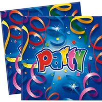 Party Streamers Prismatic - 2-Ply Paper Napkins (20 Pack):