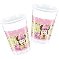 Minnie Baby - 8 Plastic Cups (200ml):