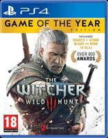 The Witcher 3 - Game Of The Year Edition (PlayStation 4, Blu-ray disc):