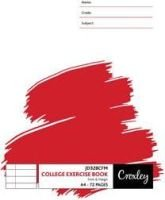 Croxley JD328CFM A4 Exercise Books (72 Pages)(10-Pack):