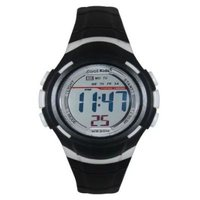 Cool Kids Water Resistant Digital Watch (Mid-Size)(Black):